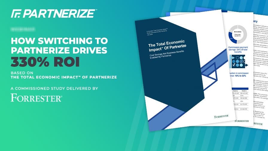 Total Economic Impact(TM) Study Shows 330% Three-Year ROI for Enterprises Switching to the Partnerize Platform