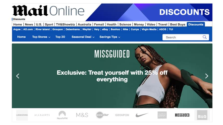 Daily Mail Doubles Outbound Traffic to Retailers as Affiliate Marketing Partnerships Mature